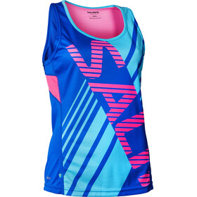 Salming Race Singlet Women Blue